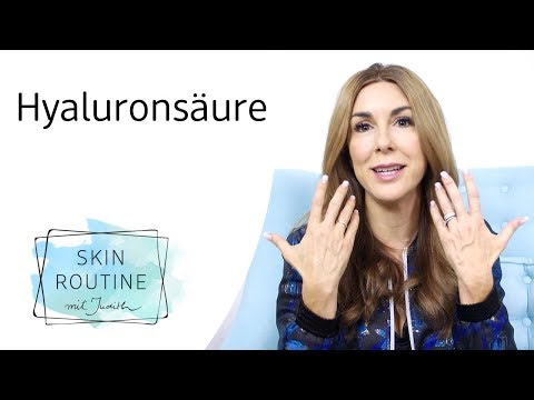 Hyaluronsäure - Was ist das und wofür brauche ich es?   Skin Routine mit Judith Williams