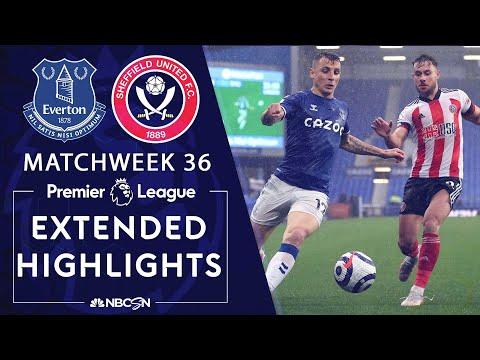 Everton v. Sheffield United | PREMIER LEAGUE HIGHLIGHTS | 5/16/2021 | NBC Sports