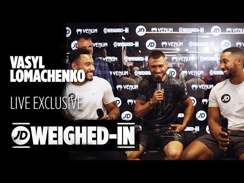 jdsports.co.uk & JD Sports Voucher Code video: Vasyl Lomachenko Exclusive Interview, Talks Luke Campbell, His Next Steps and More | JD Weighed-In