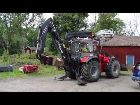 Traktorgrävare Huddig 1160