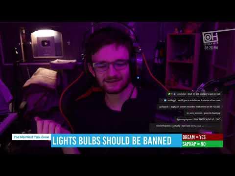 """Lights bulbs should be banned"" - Episode 32 - Dream & Sapnap"