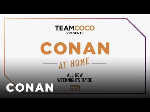 CONAN Returns To TBS Monday, March 30th