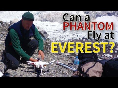 Will A DJI Phantom Fly At Everest Base Camp? - UCQ2Qtw9U5lXIij7Qy_AdQGA