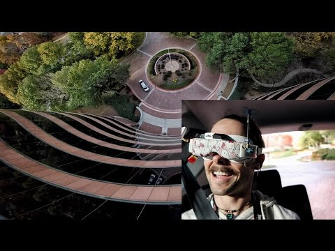 Diving Buildings with a DRONE Inside a MOVING CAR - UCQEqPV0AwJ6mQYLmSO0rcNA