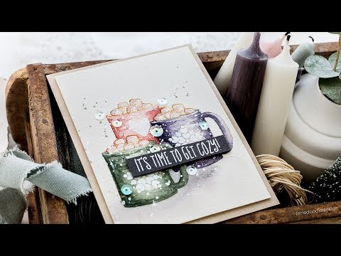 No-Line Watercoloring w/Debby Hughes ft. COOKIES & COCOA
