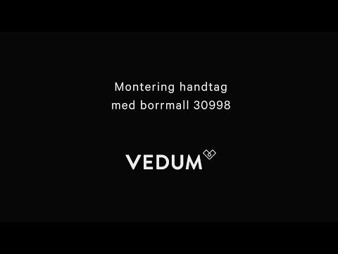 Montering handtag med borrmall