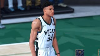 NBA 2K19 - Milwaukee Bucks vs. Denver Nuggets - Full Gameplay (Updated Rosters)