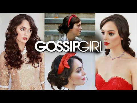 "blair waldorf ""gossip girl"" hairstyles! ICONIC HOLIDAY HAIR"
