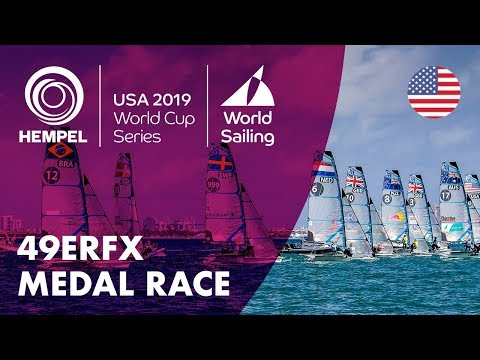 49erFX Medal Race | Hempel World Cup Series: Miami, USA