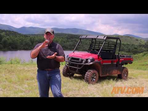 2017 Kawasaki Mule Pro FX LE Review