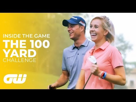 Iona vs Renato vs Guido! | The 100 Yard Challenge #2 | Golfing World