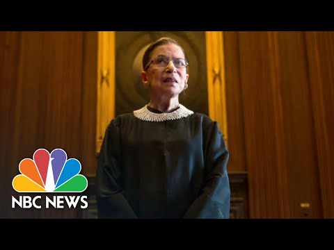 Mitchell: Ginsburg Was An 'Extraordinary Woman' | NBC Nightly News