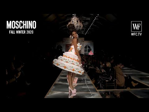 Moschino fall-winter 20-21 Milan fashion show