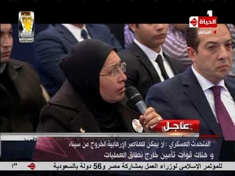سيناء 2018 - المتحدث العسكري يوصي وسائل الإعلام بالرجوع إلى البيانات الرسمية وتحري الدقة فيما ينشر
