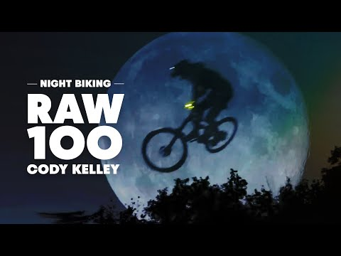 Night-Biking Moonlit MTB Trails in Utah | Raw 100