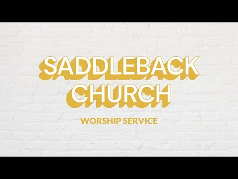 Getting People To Work Together  Worship Service  Rick Warren