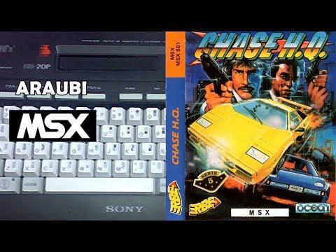 Chase HQ (Ocean, 1988) MSX [470] Walkthrough Comentado