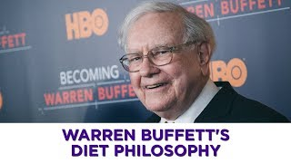 Warren Buffett: My favorite foods haven't changed since I was 6