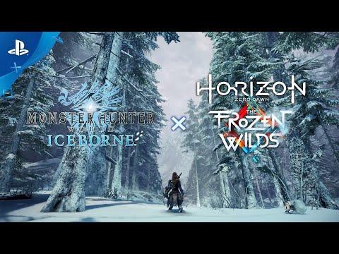Monster Hunter World: Iceborne x Horizon Zero Dawn: The Frozen Wilds - Novos Equipamentos | PS4