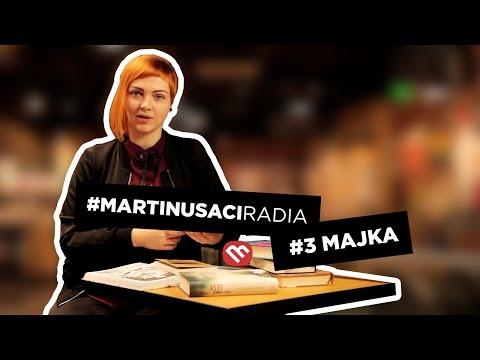 Knižné tipy od Majky - #MartinusaciRadia