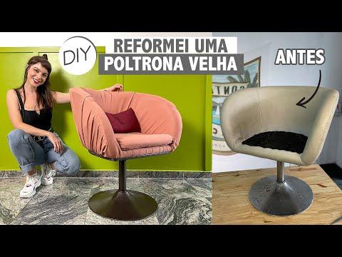 DIY Reformando Poltrona Antiga !!