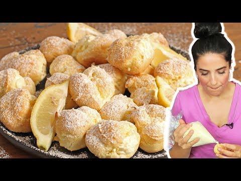 Lemon Cream Puffs | Ep. 1269