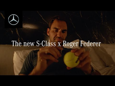 The New S-Class with Roger Federer