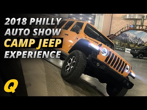 2018 Philly Auto Show Camp Jeep