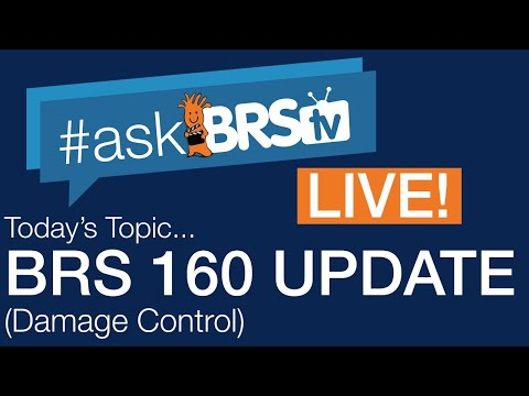 BRS160 Update (Stop messing with things!) | #AskBRStv Live