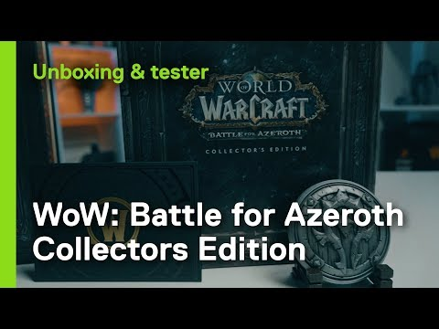 World of Warcraft - Battle for Azeroth Collectors Edition Unboxing!