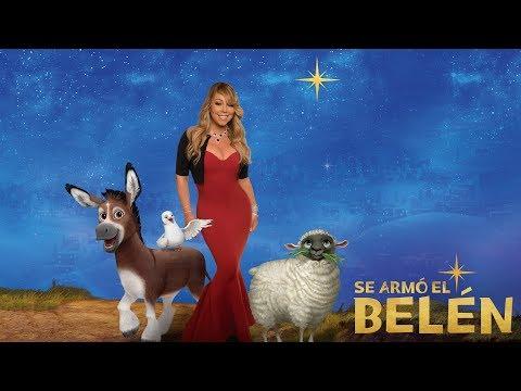 SE ARMÓ EL BELÉN. Mariah Carey te ayudará a encontrar tu estrella. Ya en cines.