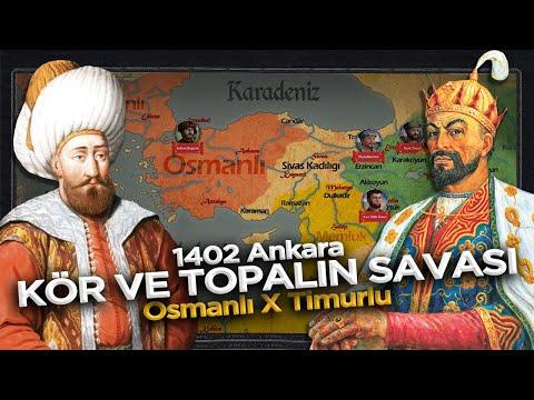 Emir Timur ve Yıldırım Bayezid Karşılaşması || 1402 Ankara Muharebesi TEK PARÇA Belgesel