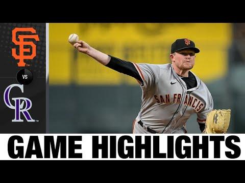 Giants vs. Rockies Game Highlights (9/7/21) | MLB Highlights