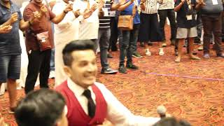 Best Crowd Ice Breaker | Corporate Audience Warm Up | Anchor|Host|Emcee Girish Sharma  | Singapore