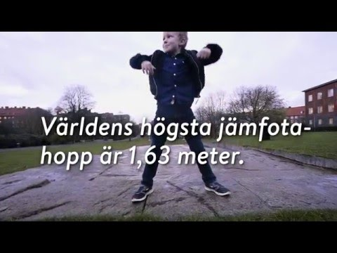 "Universeum - Hälsa - ""Box jump"""