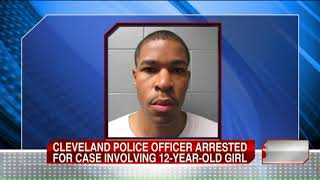 Cleveland police officer arrested, accused in attempted kidnapping of girl