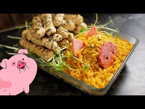 Салат новогодний свинтус под брёвнами | Годный салат