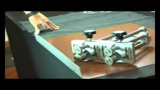 Valtsirull Freund Standard topelt (2x), 0°- 90° painutuskõrgus 5-200 mm + adapter