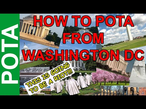 How to POTA in Washington DC - After Action Report on the National Mall and Other Sites