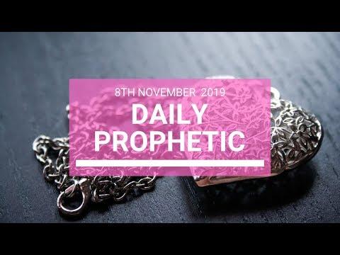 Daily Prophetic 8 November Word 5
