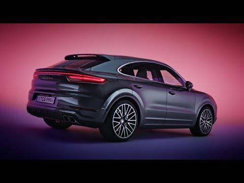 The new Porsche Cayenne Coupé - Design Film