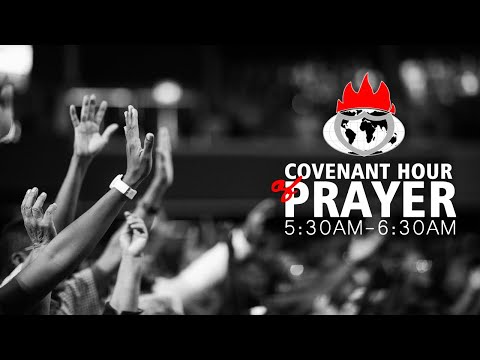 DOMI STREAM: COVENANT HOUR OF PRAYER  26, OCTOBER  2020