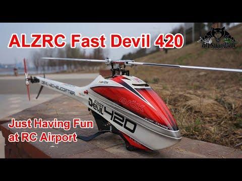 ALZRC Fast Devil 420 Mild 3D and Speedy Passes - UCsFctXdFnbeoKpLefdEloEQ