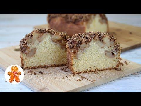 Кекс с Яблоками и Хрустящей Корочкой ✧ Apple Crumble Cake