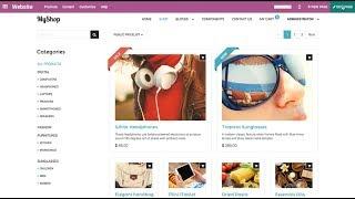 eCommerce #OdooWebinar: Manage Different Digital Storefronts in One Database