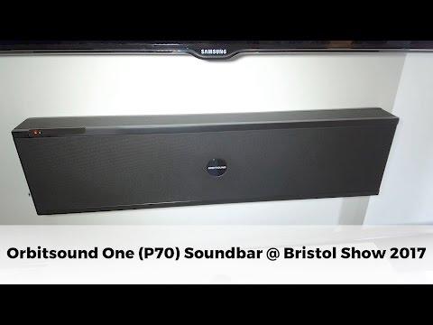 Orbitsound One (P70) Soundbar launched at Bristol Show 2017