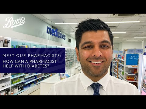 boots.com & Boots Discount Code video: Meet our Pharmacists | How can a Pharmacist help with Diabetes? | Boots UK