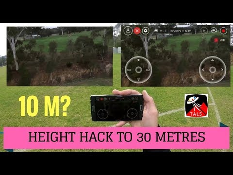 DJI TELLO - MAX HEIGHT HACKED TO 30m - FULL REVIEW of FEATURES - UCqTscK96kIuIbL2xxg4VwDg