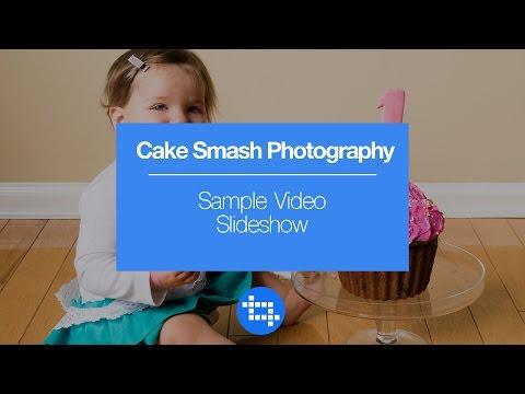Cake Smash Photography Sample Video Slideshow