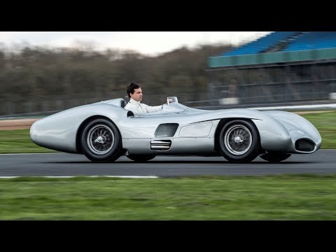 Toto Drives the Legendary Mercedes W 196